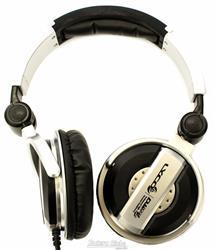 Fone de Ouvido Lyco DJ1000 MK2 Plug P10 Extra Dourado e Articulação Compacta Bom Isolamento e Grave