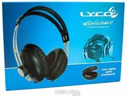 Fone de Ouvido Lyco LC Perfectum-P Preto com Plug P10, Case e Articulação Compacta
