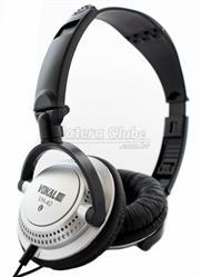 Fone de Ouvido Vokal VH40 Silver com Alto-falante de 40mm e Plug P10 Incluso