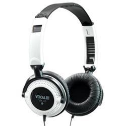 Fone de Ouvido Vokal VH40 White com Alto-falante de 40mm e Plug P10 Incluso