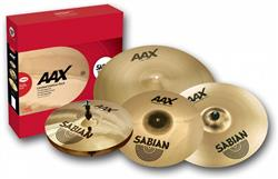 Kit de Pratos Sabian AAX PW1 Praise & Worship Pack com Splash, 2 Crashes, Chimbal e Ride