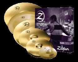 """Kit de Pratos Zildjian New Planet Z Super Pack com China 18"""" e Splash 10"""" PLZSP Kit com 6 Pratos"""