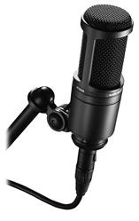 Microfone Audio-Technica 20 Series AT2020 Condensador Ideal para Home Studio