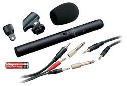 Microfone Shotgun Audio-Technica Atr Series ATR6250 Condensador Estéreo para Vídeo e Gravação