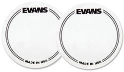 Pad de Bumbo Evans EQ Patch EQPC1 com 2 unidades (Pedal Single) Pad Kick (014110)