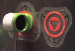 Pad de Bumbo Slug Impact Pads BB-TP Triad Pad para Pedal Single Pad Kick Kit com 2 Unidades