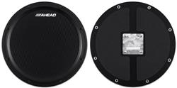 Pad de Estudo Ahead AHSHPB Black S-Hoop Marching Pad com Som Similar a Esteira de Caixa
