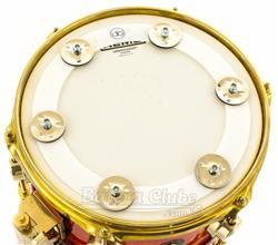 """Pandeirola de Caixa AP Drums Ching Ring 10"""" para colocar sobre a pele e criar efeitos"""