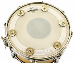 """Pandeirola de Caixa AP Drums Ching Ring 12"""" para colocar sobre a pele e criar efeitos"""