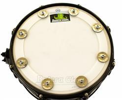 """Pandeirola de Caixa AP Drums Ching Ring 13"""" para colocar sobre a pele e criar efeitos"""