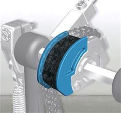 Pearl CAMT-BL Azul Polia para Pedal Eliminator Red Line em Curva Tradicional Macio com Alto Impacto