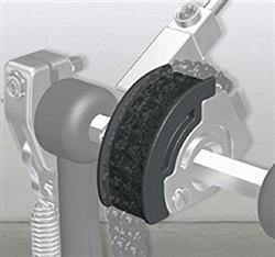 Pearl CAMT-BK Preto Polia para Pedal Eliminator Red Line em Curva Tradicional Macio