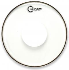 "Pele Aquarian Classic Clear 16"" com Power Dot Central (Similar Remo CS Clear) CCPD16"