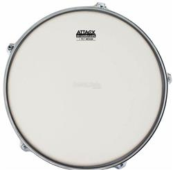 "Pele Attack Drumheads 1-Ply Medium Coated Frost Bite 08"" Filme Único Porosa DHAFB8C"