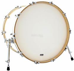 "Pele Attack Drumheads 1-Ply No Overtone Bass Coated 20"" Pele Porosa Bumbo c/ Muffle Abafador DHNO20C"