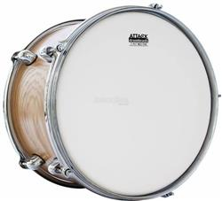 "Pele Attack Drumheads 2-Ply Thin Skin Coated 08"" Filme Duplo Porosa Mais Fina DHTS2-8C"