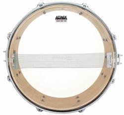 "Pele Attack Drumheads Snare Side Hazy Thin 10"" SS10T Resposta de Caixa"