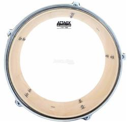 "Pele Attack Drumheads Thin Skin 1-Ply Clear 08"" Filme Único Fino Resposta DHTS8"
