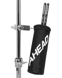 Porta Baquetas Ahead AHSH Drumstick Holder com Clamp Fixador Quick-Release Padrão Top