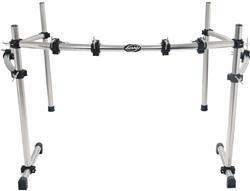 """Rack Adah RDR-0522 com 3 Lados Curvos e 4 Clamps Compatível com Bumbos até 26"""""""