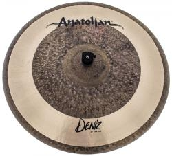 "Ride Anatolian Deniz Thin 22"" Raw Natural Hybrid Handmade Turkish"
