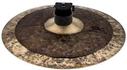 "Stax Batera Clube Signature Dry Dark BFC B20 by Domene Cymbals High 8""/10"" Prato de Efeito Exclusivo"