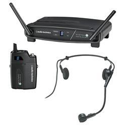 Transmissor Audio-Technica System 10 ATW-1101/H com Receptor Sem Fio Headset - FREQ. 2.4 GHZ