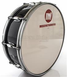 "Zabumba PHX Music Instrumentos Basswood Black 520R-DP-BK 20x7"""