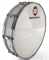 "Zabumba PHX Music Instrumentos Basswood White 518R-DP-BR 22x5"""