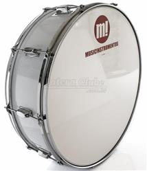 "Zabumba PHX Music Instrumentos Basswood White 521R-DP-BR 22x7"""