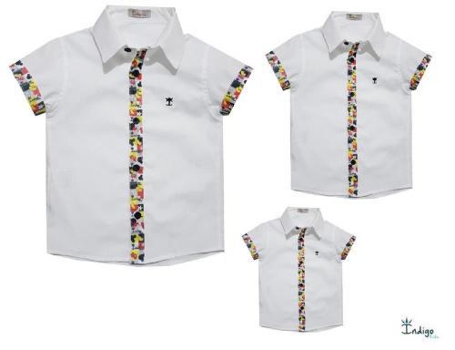 90a5e2fb6b11 Kit Família Camisa Mickey Branco : Kits Família - Pai, Mãe e Filho ...