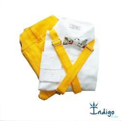 0bcaa0186d Camisa ou Body Amsterdã+Calça Amarela+Suspensório Amarelo+Gravata Borboleta  Snoopy e Amigos