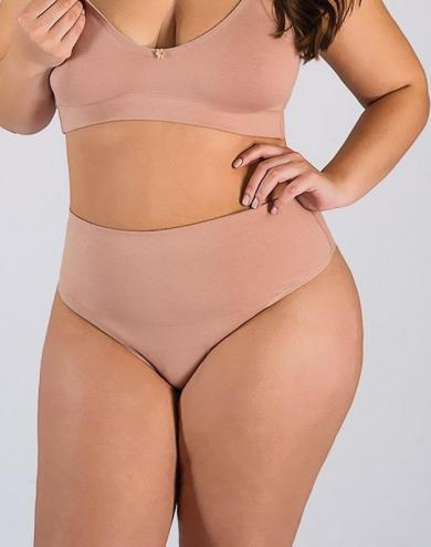 Calcinha Cotton com pala plus size