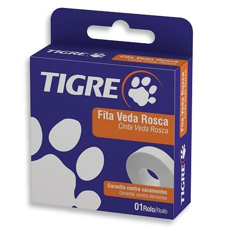 Fita Veda Rosca De 18 mm x 10 metros Tigre