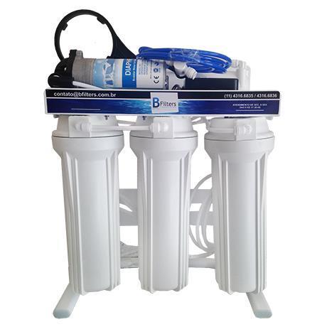 Osmose Reversa ORBC-10AB 110V 5 Etapas - Automático - 10 litros/hora