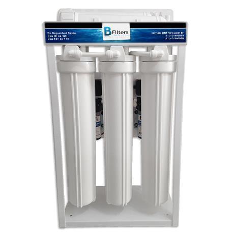Osmose Reversa ORBC-50A 220V - 4 Etapas- Manual - 50 litros/hora