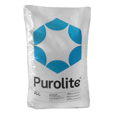 Resina Catiônica Purolite C100 - 25 Litros