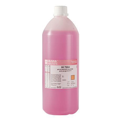 Solução De Calibração De pH 4 HI7004 Hanna - 500 ml