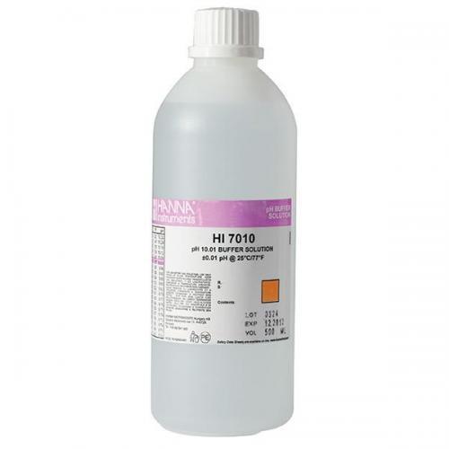 Solução De Calibração de PH10 HI7010 500 ML Hanna