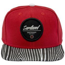 Boné Surfavel Snapback Stay Salt Vermelho Boné Surfavel Snapback Stay Salt  Vermelho 77576e94c47