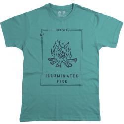 Camiseta Surfavel Básica Fire Verde água 7bd4e0d44d6