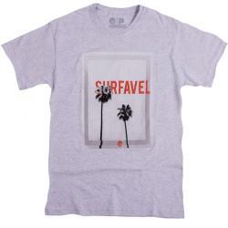 Camiseta Surfavel Básica Paradise Style Mescla 188367a8ae8