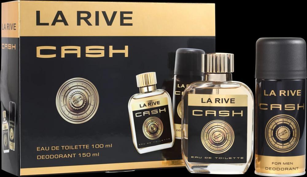 c861b1f138 Kit Cash Man La Rive Perfume de 100 Ml + Desodorante 150 Ml - Atacado La