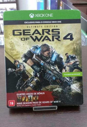 Gears Of War 4 Ultimate Edition - Xbox One - Usado : Xbox One