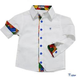 17909b03ac Teen - Camisas - Social   Boutique Pra Menino