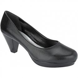 9ccc8c3ef Sapato Social Salto 6cm (Cor do modelo: Couro Preto)