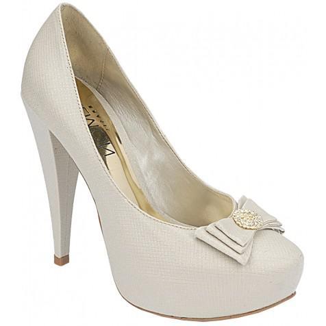 aed4be1ec Sapato Noivas Plataforma Fechado - Opção de 4 tipos de Salto (Cor do modelo:  ...