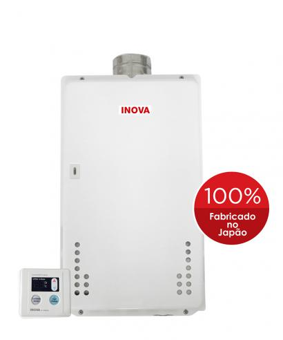 Aquecedor de Água à Gás INOVA IN 370 D- 35,5 Litros/min.