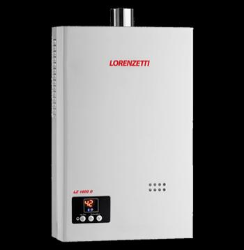 Aquecedor de Água à Gás  LORENZETTI LZ 1600 D  16 Litros/min