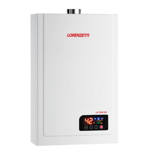 Aquecedor de Água à Gás  LORENZETTI LZ 2300 DE  23 Litros/min